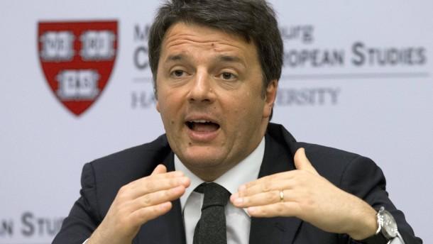 Renzi will mit Eurobonds Kosten der Flüchtlingskrise bezahlen