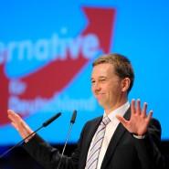 Hat sich durchgesetzt auf seinem Parteitag: AfD-Chef Bernd Lucke