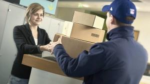 Der Arbeitsplatz wird zur Paketstation