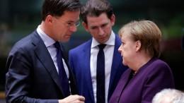 Am Ende kommt alles auf Merkel an