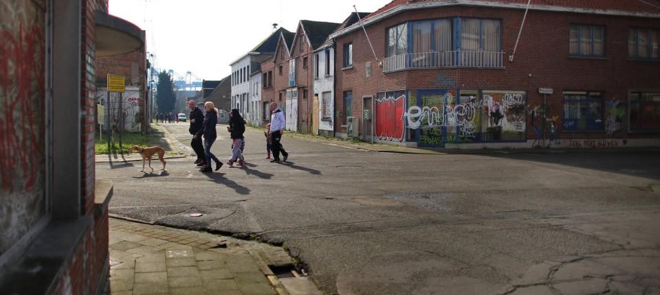 Antwerpen Das Belgische Dorf Doel Muss Dem Hafen Weichen
