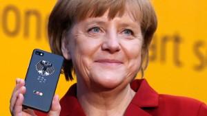 Blackberry kauft Entwickler des Merkel-Phone