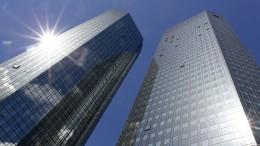 Deutsche Bank will mehr als 1000 Stellen in Amerika streichen
