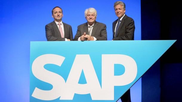 Schwacher Ausblick setzt SAP-Kurs unter Druck
