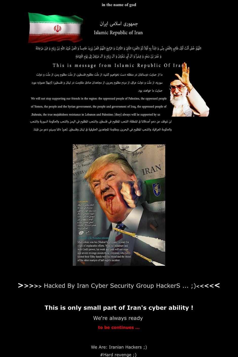 Iran Gefährlich