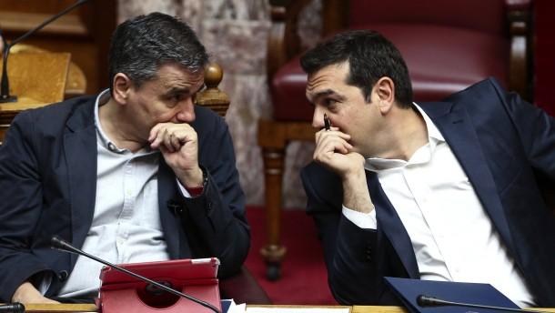 Griechisches Parlament stimmt neuen Sparmaßnahmen zu