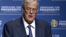 Amerikas Konservative verlieren Großspender David Koch