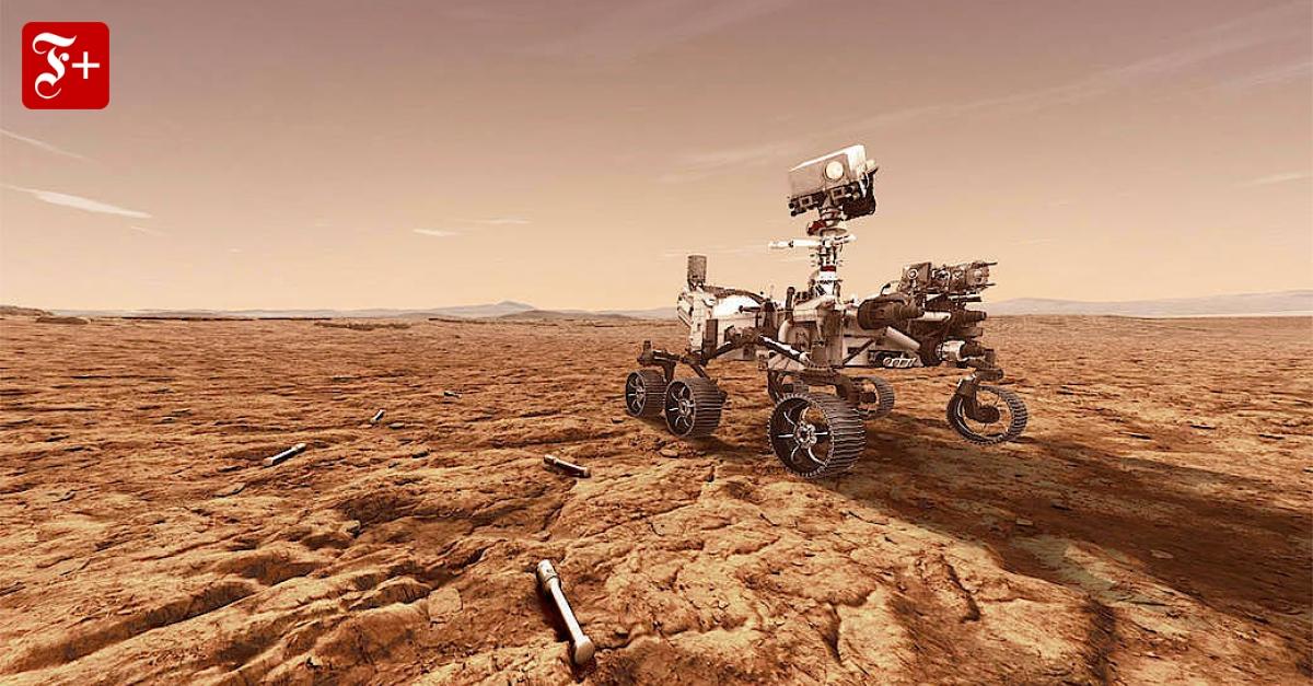 Deutsche Technik auf dem Mars - FAZ - Frankfurter Allgemeine Zeitung