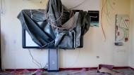 Dieses Klassenzimmer in Berlin wird schon saniert.