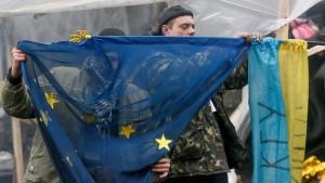 Das Sparen fällt Kiew schwer