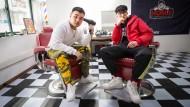 Ohne Worte: Neuerdings müssen auch Chinas Rapper immer an die Zensur denken. Hier: Boss und PJ (rechts)