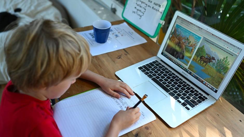 Digitales Homeschooling gibt es in Deutschland nicht flächendeckend.