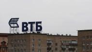 Russische VTB-Bank fürchtet Milliardenverlust