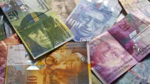 Notenbank stemmt sich gegen Aufwertungsdruck