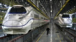 China wird zum Exporteur von Superschnellzügen