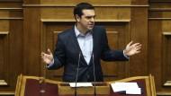 Griechenlands Premier Alexis Tsipras steht hinter seiner Entscheidung.