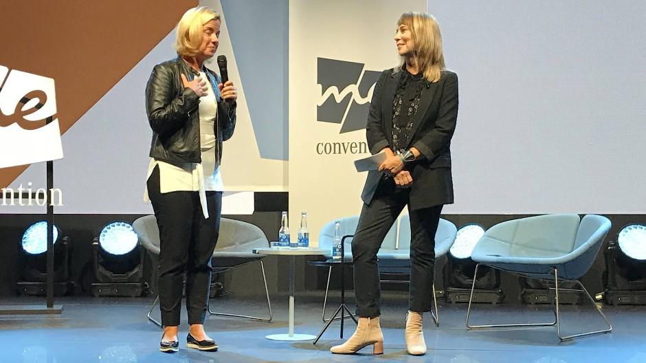 """Britta Seeger und Jann Baskett haben an diesem Mittwoch morgen die """"Me Convention 2018"""" eröffent."""