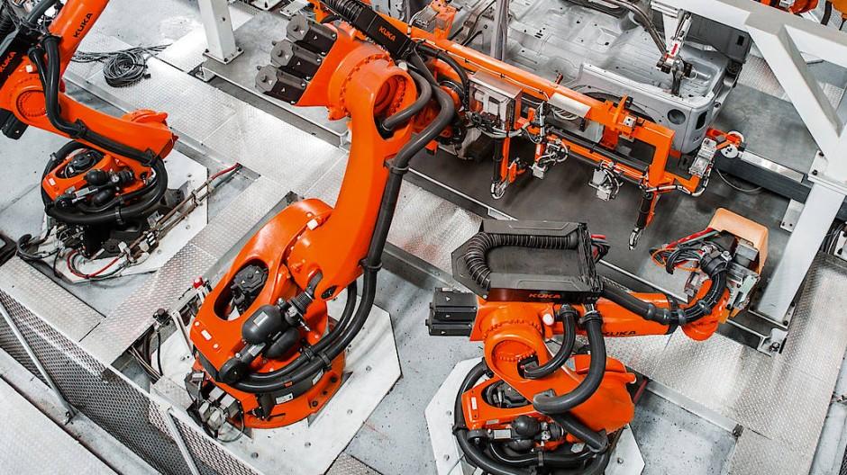 Die Zahl der Roboter wächst weiter.