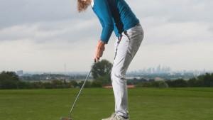 Golfen, Reiten, Gutes tun