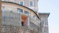 Hinter dicken Mauern: das Gebäude der Vatikanbank