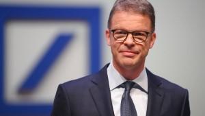 Deutsche-Bank-Chef Sewing ab Juli Präsident des Bankenverbandes