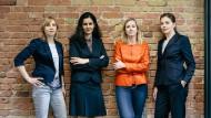 Anne-Therese Körtgen, Kati Radkhah-Lens, Rosa Meckseper und Meike Kollmannthaler (von links)