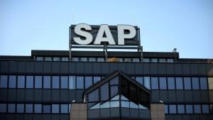Schwache Währungen in Asien setzen SAP zu