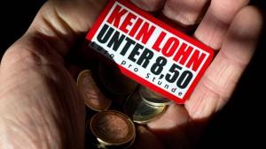 Mindestlohn schadet deutschem Arbeitsmarkt offenbar nicht