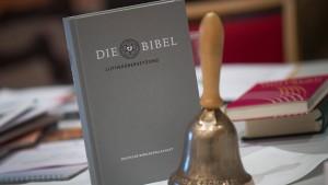 Ansturm auf die Luther-Bibel