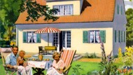 Vorteil frei stehendes Haus: Platz haben und nicht gleich über den Problemberg der Nachbarn stolpern.