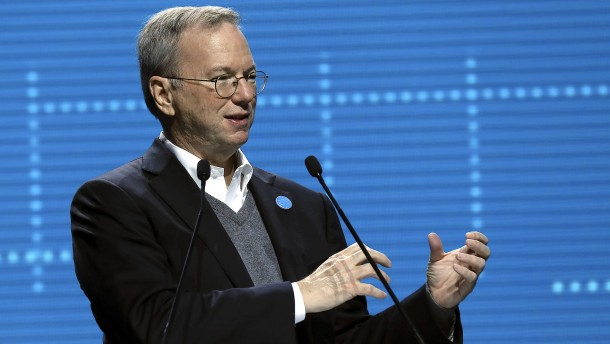 Ex-Google-Chef lobt Pläne des Militärs