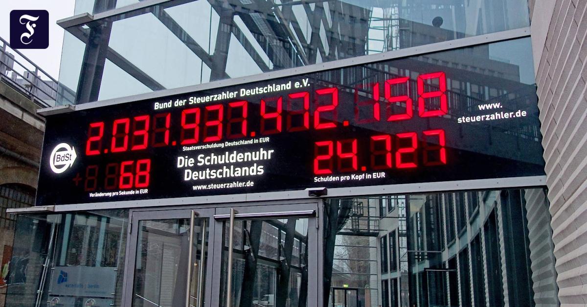 Schuldenuhr Deutschland Live