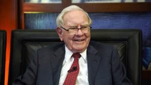 Warren Buffett verdient doppelt so viel Geld