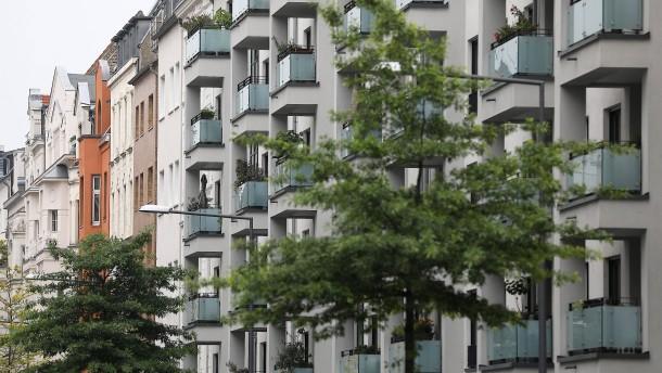 Heikle Phase für die Immobilienpreise