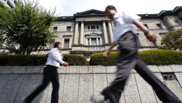 Japanische Notenbank lockert Geldpolitik