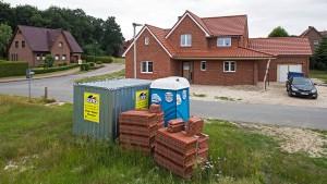Viel zu viele Häuser auf dem Land?