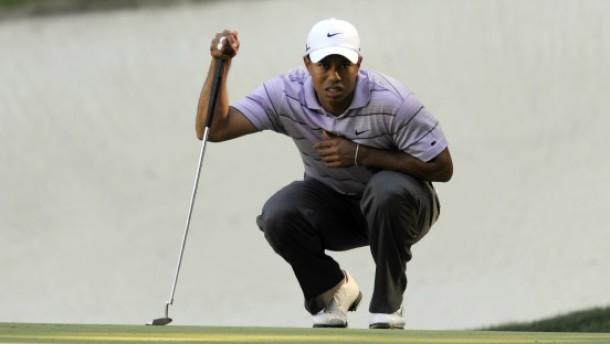 Woods glaubt an seine Chance