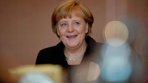 Merkel erhaelt Heinz-Galinski-Preis