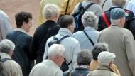 Rentner in Dresden: Wie schnell werden Renten im Osten denen im Westen Deutschlands angeglichen?