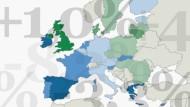 Die Wirtschaftsprognosen der Europäischen Kommission