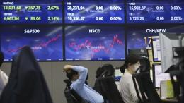 Furcht vor Inflation setzt Anleger unter Stress