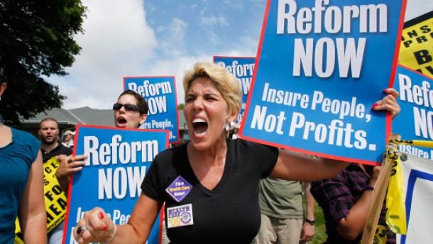 Glaubenskrieg um Obamas Gesundheitsreform