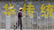 Chinas Wachstum überraschend stabil