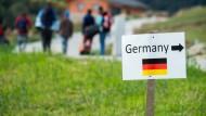Die meisten Kriegsflüchtlinge  haben keine Berufsausbildung