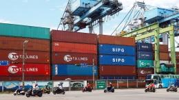 Chinas Handelsüberschuss mit Amerika wächst und wächst – und wächst