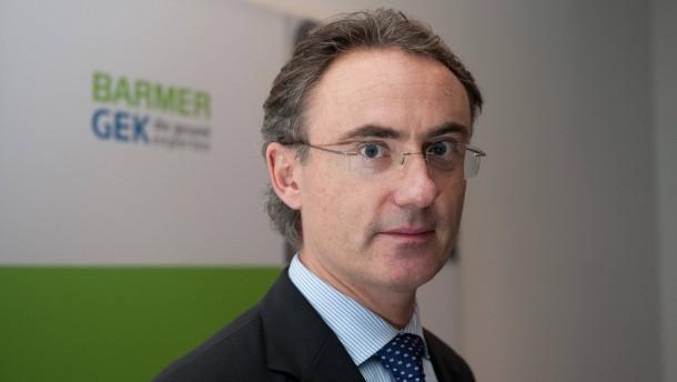 Barmer GEK-Chef Christoph Straub
