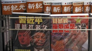 China droht Amerika mit Gegenmaßnahmen
