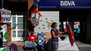 Spanische Bank verdient drei Milliarden in sechs Monaten