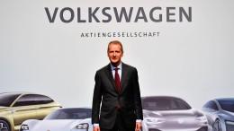 VW kommt auch mit Diess nicht aus der Krise