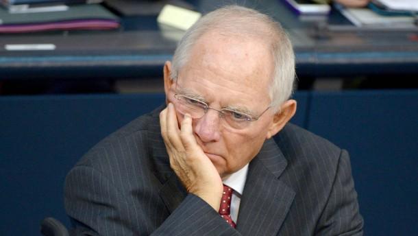Bundestag - Debatte Europäische Bankenunion